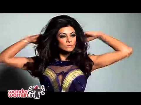 Sexy Sushmita Sen as Cosmo covergirl