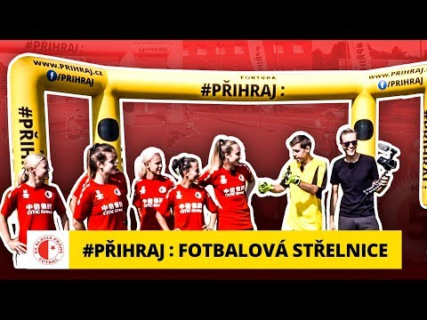 Fotbalová střelnice na Slavii s Bárou Votíkovou a Tomášem Touhou