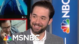 #GoodNewsRUHLES: Alexis Ohanian Launches Initiative For Paternity Leave | Velshi & Ruhle | MSNBC