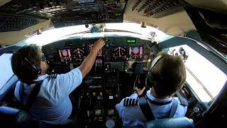 Landing at St. Martin Maho Beach in the Gulfstream - Pilot VLOG 071
