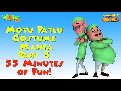 Motu Patlu Costume Mania - Part 3 - 55 Minutes of Fun! thumbnail