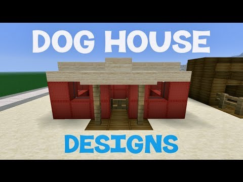 wood desk: detail how to build a dog house on minecraft