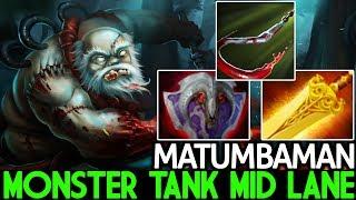 Matumbaman [Pudge] Monster Tanky Mid Lane WTF Game 7.21 Dota 2