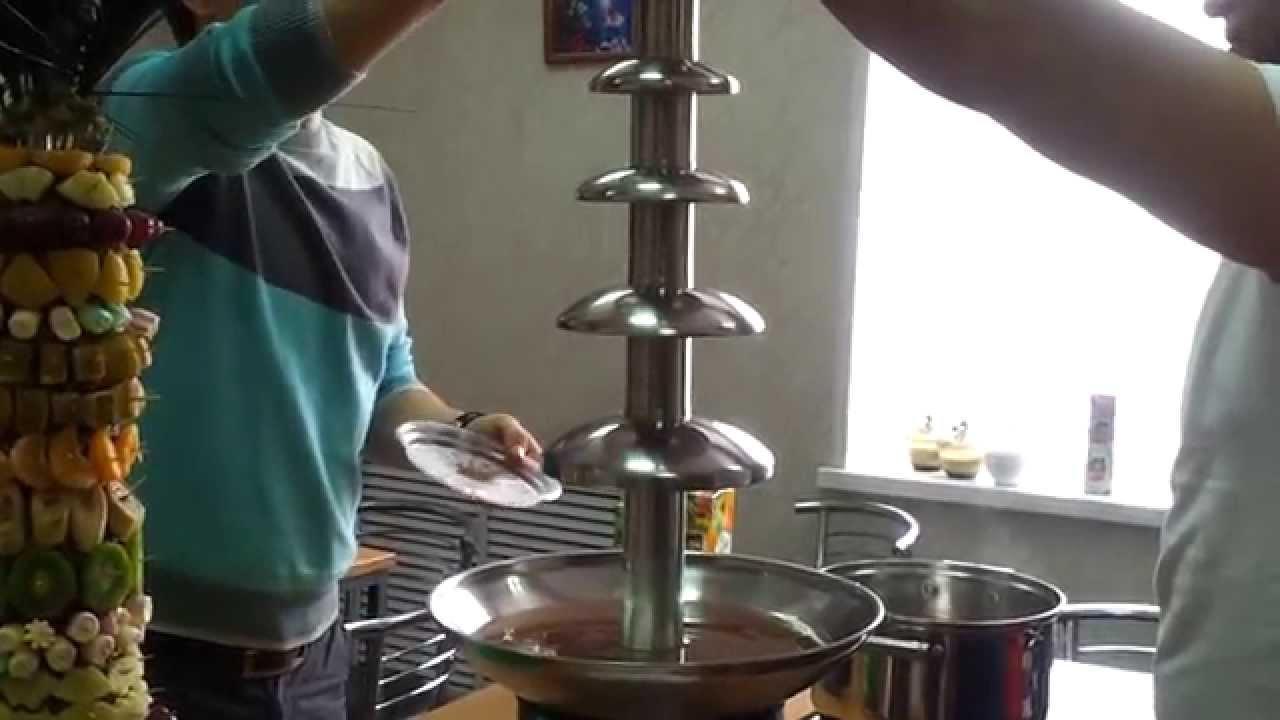 Как сделать шоколадный фонтан в домашних условиях своими