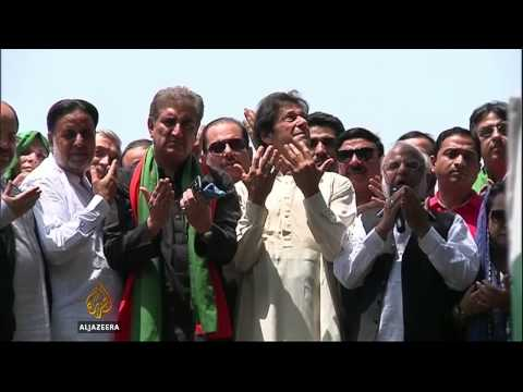 Imran Khan convoy shot at in Pakistan