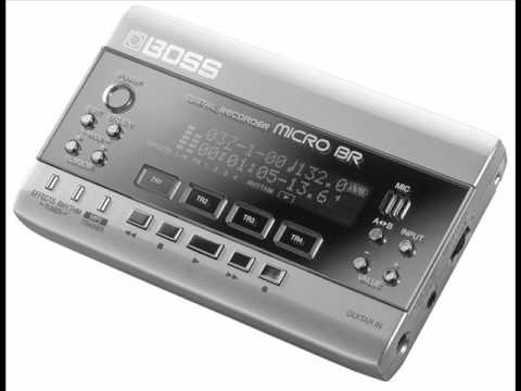 Gravador Digital BOSS MICRO BR (BOSS MICROBR)
