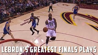 LeBron James' GREATEST NBA Finals Plays (2007-2018) (HD)