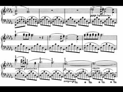 F. Chopin : Nocturne op. 9 no. 1 in B flat minor (Rubinstein)