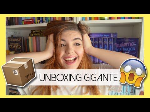UNBOXING GIGANTE | ¡Libros y regalos!