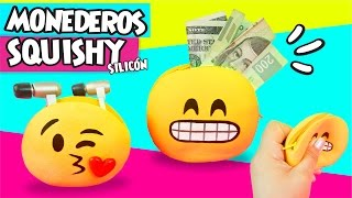 MONEDERO Squishy EMOJI de Silicón ✔ Ft Catwalk & Cookies in the Sky ★ DIY Manualidades faciles ★