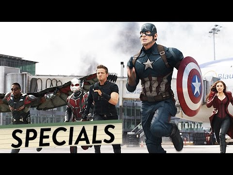 THE FIRST AVENGER: CIVIL WAR Mini Making Of | Home-Entertainment