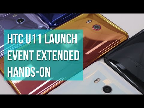 HTC U11 extended hands-on