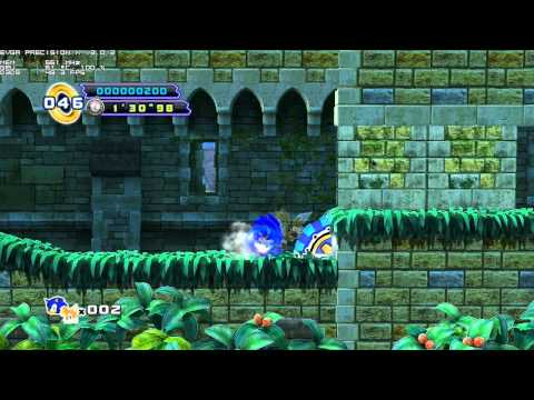 Sonic the Hedgehog 4 - Episode II PC game play
