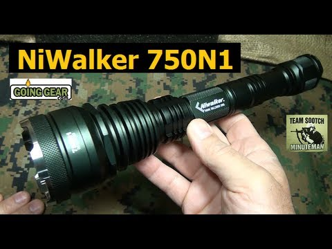Niwalker 750N1 720 Lumen LED Flashlight