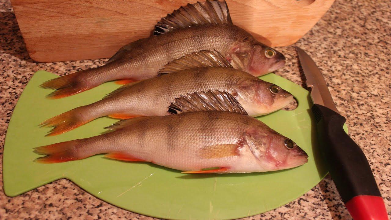 Окунь рыбы рецепт