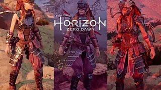 Horizon Zero Dawn All Outfits Showcase