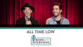 "All Time Low Talk ""Dirty Laundry"" and Collecting Bras"