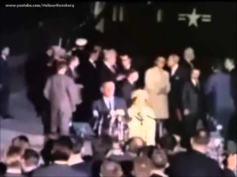 Remarks at Andrews AFB following the Assassination of John