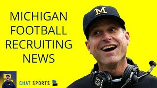 Michigan Football Recruiting News, Eric Gray De-Commits, Shea Patterson Future, NFL Draft Update