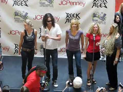 Rock of Ages Constantine Maroulis JCPenney June 25 2010 pt2 Video
