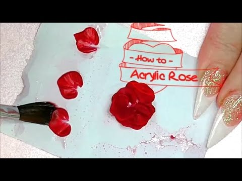 HOW TO DO ACRYLIC ROSES | ABSOLUTE NAILS