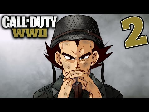 """THESE PEOPLE ARE INSANE"" Vegeta Plays Call Of Duty WW2 - Part 2"