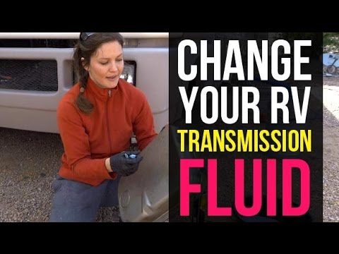 DIY RV Maintenance: Change Transmission Fluid
