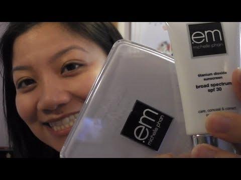 Em CC Cream and Face Powder review/tutorial video for acne/hyperpigmentation