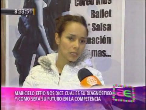 Maricielo Effio habla de su lesión y su situación en El Gran Show