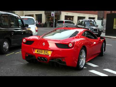 [WnT] 2012 FERRARI CARS IN LONDON (FF, 458, CALIFORNIA) IN 1 ONE DAY- CENTRAL LONDON
