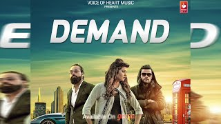 DEMAND (Audio) | Sonika Singh | Sanu Taank | Mr.Taank | VOHM