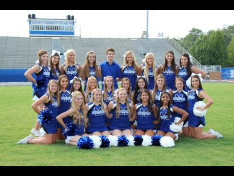 Mandeville High School Varsity Cheerleaders ALS Ice Bucket Challenge