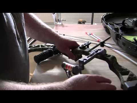 Mounting an AMS Bowfishing Reel and Kit to my Compound Bow for Bowfishing.