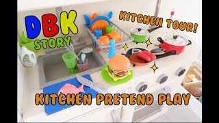 Kitchen Pretend Play with DBK - Mainan masak masakan anak