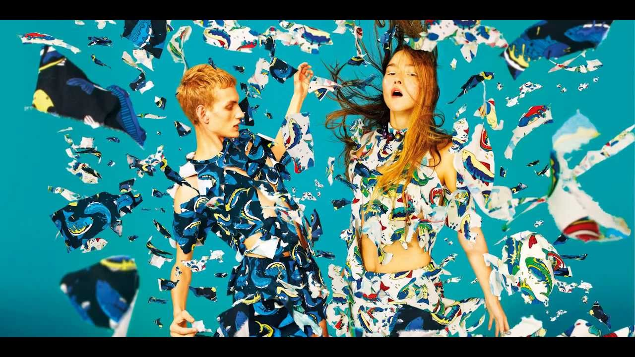 Kenzo Spring Summer 2014 Campaign By Toiletpaper Youtube