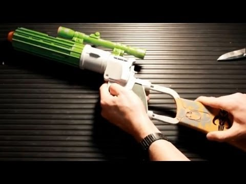 CGR Toys - BOBA FETT BLASTER Star Wars toy review