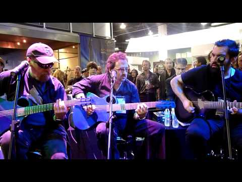 Don't Fear the Reaper - acoustic BOC at Winter NAMM 2012