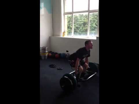 Chris Trap Bar/Kettlebell lifts in training 28/10/12 Image 1