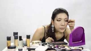 ការបង្ហាញពីរបៀបប្រើជក់សម្រាប់ Make up ឲ្យបានស្អាត