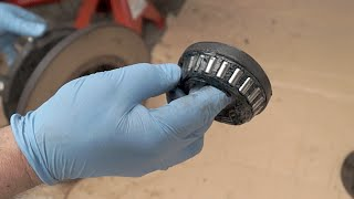 Replacing Land Rover wheel bearings and seal - The Fine Art of Land Rover Maintenance