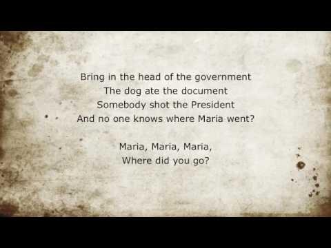 Green Day - Maria Lyrics -- Green Day