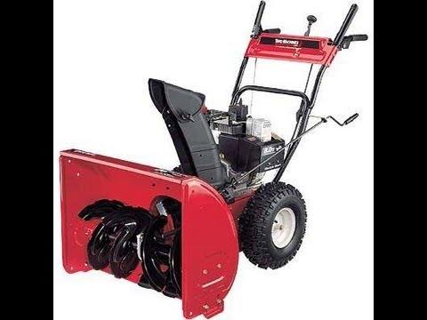 MTD snow blower repair