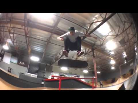 Quick Clips at Shecklers Park with Chase Webb, Nyjah Huston, Tony Panici & Jordan Hoffart