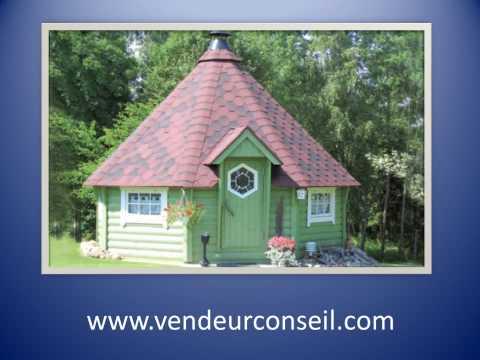 Les cabanes barbecues ou cabane de jardin youtube - Dutronc petit jardin youtube limoges ...