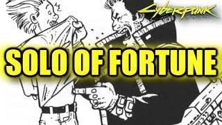 Cyberpunk 2077 Morgan Blackhand Solo of Fortune