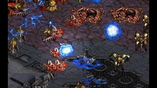 Hero (Z) v Shuttle (P) on Transistor - StarCraft  - Brood War REMASTERED
