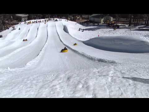Snow tubing   Big Bear Lake, CA