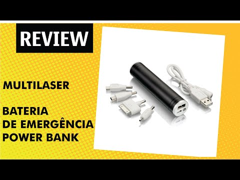 Hands on Unboxing PowerBank Multilaser Review Brasil