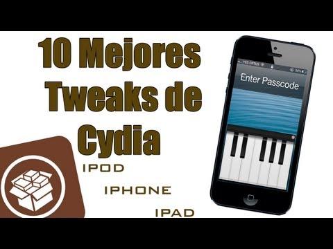 Los 10 Mejores Tweaks de Cydia iOS 6. 6.1 y 6.1.2 Mayo 2013 para iPod iPad y iPhone en Español