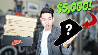 My Biggest Sneaker Haul EVER! ($5,625 Worth of Sneakers!!)